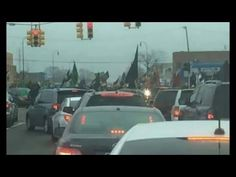 Heads Up! IS & Muslim Brotherhood Flags Being Waved with Pride In Michigan - YouTube Dec 7 2015