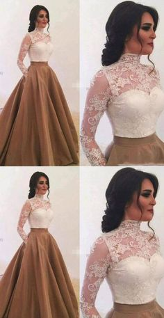 Two Piece Long Prom Dresses with Pockets, Shop plus-sized prom dresses for curvy figures and plus-size party dresses. Ball gowns for prom in plus sizes and short plus-sized prom dresses for Indian Gowns Dresses, Indian Fashion Dresses, Dress Indian Style, Indian Designer Outfits, Designer Dresses, Lace Evening Dresses, Prom Gowns, Dress Fashion, Royal Dresses