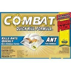 Combat Quick Kill Ant Traps & Food Grade Diatomaceous Earth came out on top in this HuffPost test.