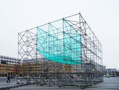 art installations with scaffold - Google Search