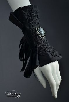 Extravagant Goth Victorian Cuff Bracelet with lady cameo, Dark Fashion, Elegant Goth, Dark Romantic Wedding Jewelry, Accessories