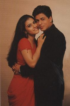 Shah Rukh Khan and Kajol - promotion shot for K3G (2001)