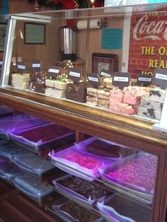 Yummy fudge from Blissmoor Valley Ranch Store in Marshall, TX!  They will be at AlleyFest 2013 in Longview, TX