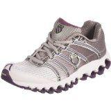 K-Swiss Women's Tubes Run 100 A Grey/Purple Trainer 92316-068-M 5 UK: fitness wear for women