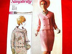 Vintage 1960s Dress Pattern Misses size 14 by PatternsFromThePast, $14.50