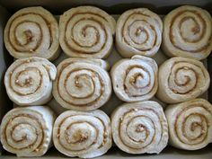 Bread Without Butter: peanut butter banana cinnamon rolls.