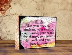 ATC ACEO Wooden Block Shelf Sitter Wall Hanging by cuteartworld333, $8.00