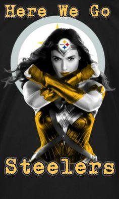 Wonder Woman - Steelers Style