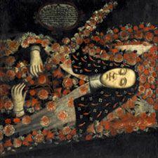 Anónimo. Retrato de la madre priora Thomasa de San José. By Oscar Monsalve. Museo del Banco de la República. Bogotá