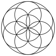 Flower Of Life - Seed of Life - Sacred Geometry - The simplified version