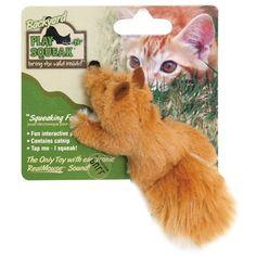 Brinquedo para Gatos Backyard Squeaking Fox Raposa Play Squeak - Meuamigopet.com.br #cat #cats #gato #gatinho #bigode #muamigopet