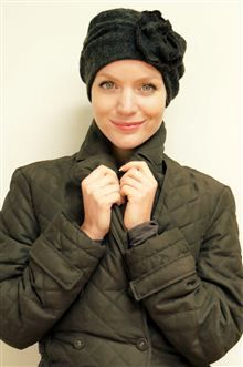 Chemo hat for cancer patients - soft knit hat fully lined with viscose  jersey available in 22f87f398349