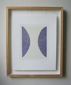 Ein original handgefertigter Siebdruck auf feinste Qualität Fabriano 100 % Baumwolle Papier (285). Ein schönes Schwergewicht italienischen