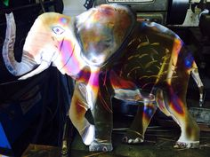 Stainless elephant