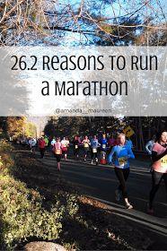 Unapologetically You: 26.2 Reasons to Run a Marathon