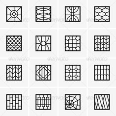 Iron Window Grills - Patterns Decorative #GATE4LESS http://gateforless.com/product-category/security-bar/residential-windows/
