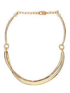 Twist gold-plated necklace | Robert Lee Morris | MATCHESFASHIO...