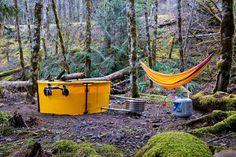 A camp set-up