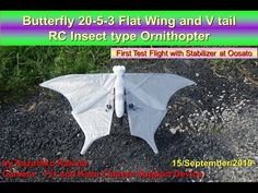 Kazuhiko Kakuta - YouTube Robot Bird, Science And Technology, Stability, Wings, Film, Digital, Youtube, Movie, Film Stock