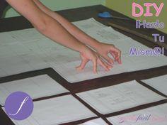 Cómo armar las hojas con los patrones impresos de archivos PDF a tamaño real