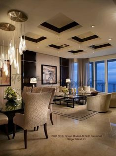 Great ceiling! Great way to add subtle detail to a room.