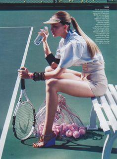 Tennis Themed Photoshoot