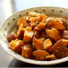 Thyme-Roasted Sweet Potatoes Recipe
