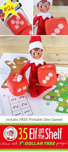 35 BRAND NEW Elf on the Shelf ideas for this year! These fun, creative & EASY Elf on the Shelf ideas all include an item from the Dollar Tree! #Legos #Christmas #ElfOnTheShelf #Ideas #Easy #Funny #Toddler #DIY #DollarStore