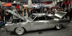 Just a car guy : '68 Charger in bare metal, 2000 horsepower engine
