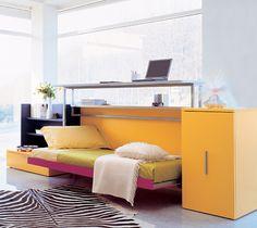 机になったり、ベッドになったり。 transformation!Cabrio In, on Designer Pages
