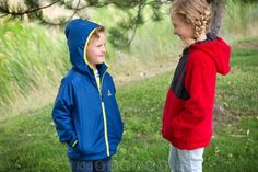 Rugged Bear Hooded Reversible Fleece Jacket | 64%  off! Medium weight hoodies for cool weather  $19.99 for a limited time!