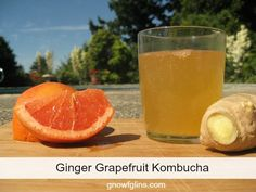 Ginger Grapefruit Kombucha