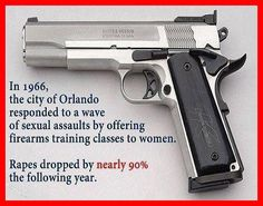 Second amendment fact, good ole Orlando. Guns save lives...quit blaming guns for the death of people!