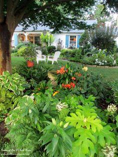 Our front shade garden  (Garden of Len & Barb Rosen)