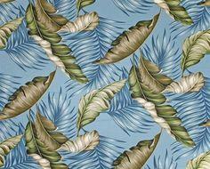 Bark Kahala Fabric Vintage Hawaiian Banana Leaf