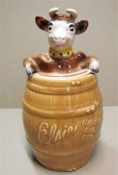Vintage Elsie The Cow Cookie Jar, 1950s  My Mom has one of these!