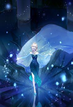 Elsa the Snow Queen - Frozen (Disney) - Mobile Wallpaper - Zerochan Anime Image Board Disney Pixar, Walt Disney, Deco Disney, Frozen Disney, Disney Marvel, Disney Fan Art, Disney Animation, Disney And Dreamworks, Disney Love