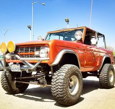 Classic early bronco ford