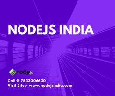 At Nodejs india we are offering services like web application development,mobile application, ecommerce application development and many more. Feel free to contact us for your nodejs web application development.