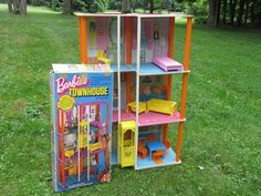 Vintage Barbie Townhouse 1975 Mod Era Lot Bonus Furniture Collector Doll House | eBay