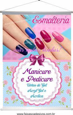 Nail Salon Design, Manicure Y Pedicure, Disney Wallpaper, Instagram Feed, Eyelashes, Banner Design, Nail Designs, Nail Art, Nails