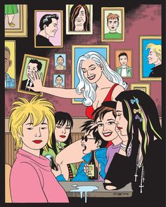 """Jaime & Gilbert Hernandez Celebrate """"Love and Rockets"""" and Sibling Rivalry"""