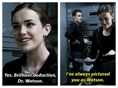 FitzSimmons and their Sherlock Holmes reference