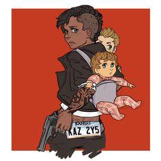 castielnovak:  Baby and her babies #Supernatural