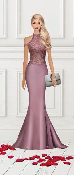 Covet Fashion, Fashion Models, Girl Fashion, Fashion Dresses, Fashion Looks, Fashion Design, Fashion Illustration Dresses, Fashion Illustrations, Do It Yourself Fashion