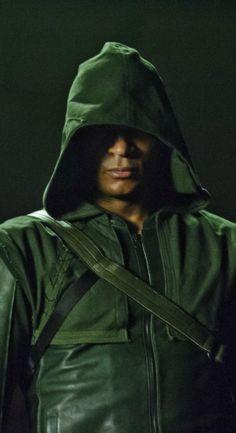 Arrow - Diggle as the Hood