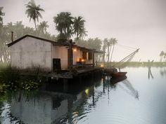 Espectacular render - Casa del Lago. by a.r. (alvaro ramos), via Flickr