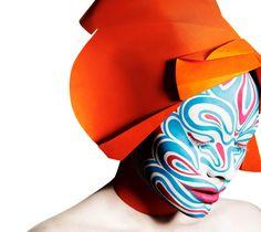 extraordinary make up by Alex Box