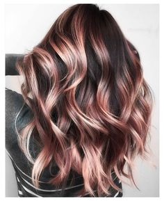 Fall Blonde Hair Color, Fall Hair Color For Brunettes, Brown Ombre Hair, Hair Color For Black Hair, Fall Winter Hair Color, Hair Color For Women, Red Hair, Cute Hair Colors, Gold Hair Colors