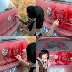 that is amazing! A true artist...